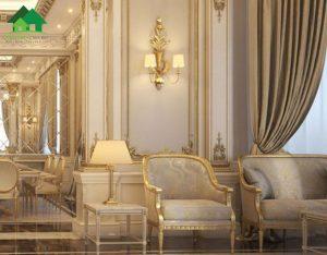 biệt thự cổ điển 2 tầng