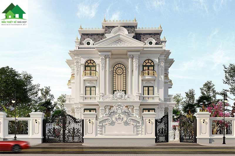 Biệt thự tân cổ điển 3 Tầng ở Quảng Ngãi