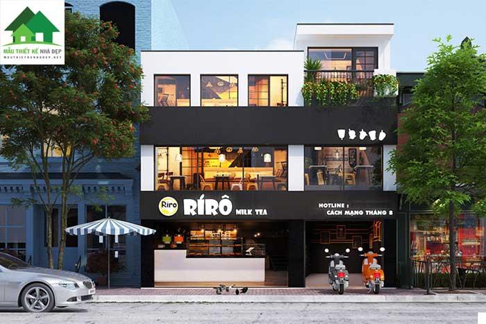 Nhà phố mặt tiền 8m kết hợp kinh doanh nhà hàng ăn