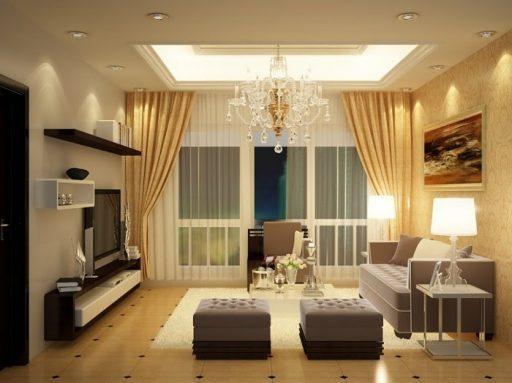 Rèm vải là vật dụng không thể thiếu tại các căn chung cư