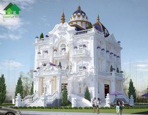 biệt thự cổ điển Châu Âu